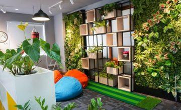 Địa Ốc 5 Sao thiết kế lại văn phòng làm việc sáng tạo