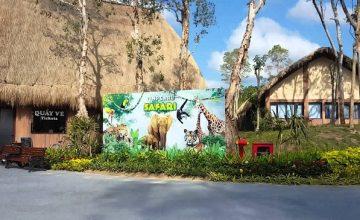 Vườn thú tại Vinpearl Nam Hội An thiết kế khác biệt như thế nào?