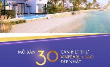 Sự kiện: Mở bán 30 căn biệt thự 5 sao đẹp nhất cạnh sân golf Nha Trang