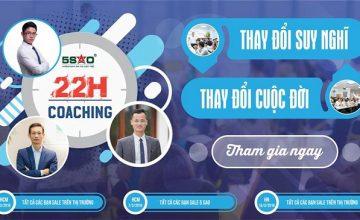 Khóa đào tạo 22h Coaching miễn phí dành cho tất cả Sales BĐS trong Nam ngoài Bắc